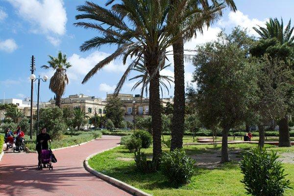 park in gzira nabij sliema malta