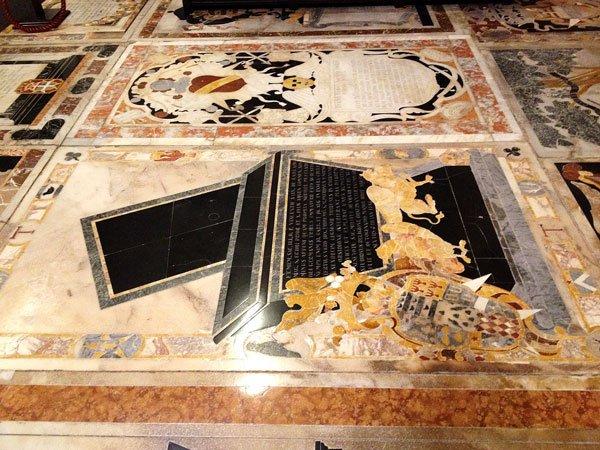 prachtige marmeren vloeren st johns co cathedral valletta malta