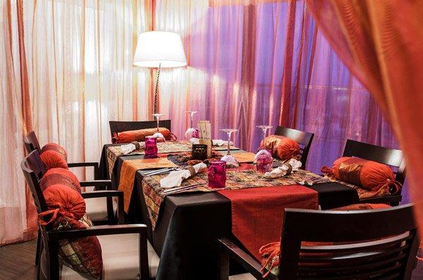 prachtige tafeldecoratie temptasian restaurant the palace hotel malta