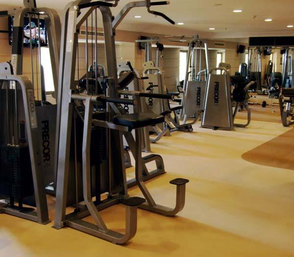 professioneel uitgeruste fitnessruimte hilton malta hotel