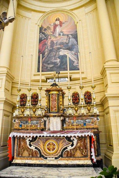 rotunda koepelkerk in xewkija apsis gozo bezienswaardigheden