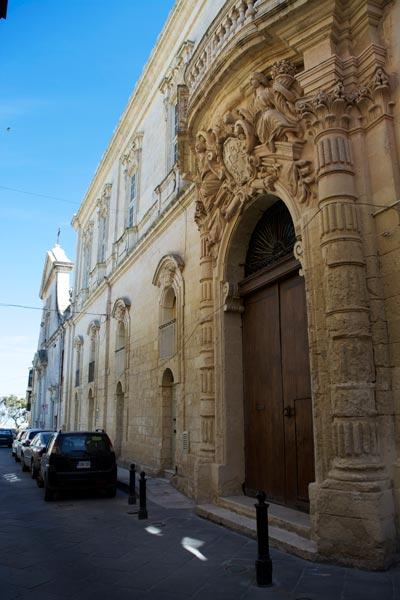 augustijnenkerk van sint marcus evangelist rabat centraal malta