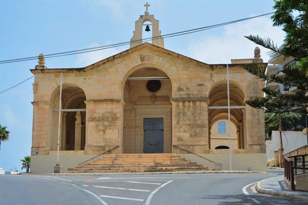 kerk van de schipbreuk van sint paulus st pauls bay malta