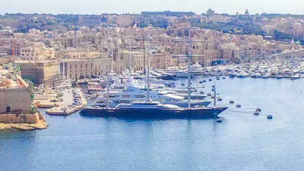 superjachten vittoriosa the three cities newmalta