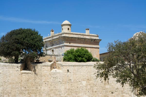 tower of the standard mdina centraal malta
