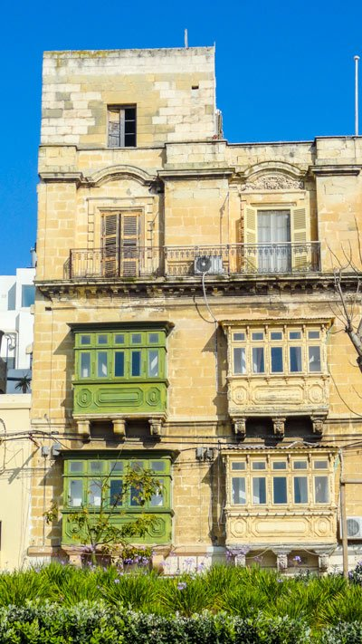 traditioneel maltees huis in the three cities newmalta