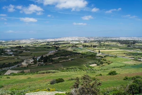 uitzicht bastion square mdina centraal malta