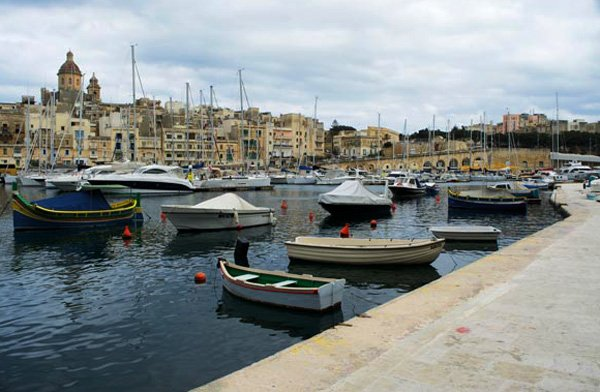 uitzicht op vittoriosa dockyard creek the three cities malta
