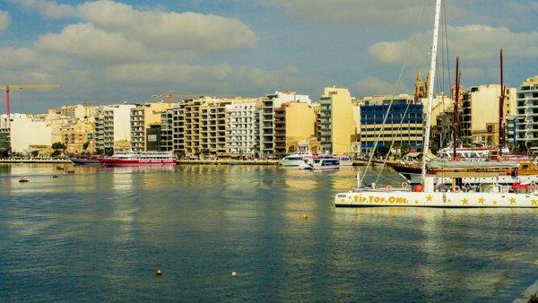 vakantiehuis malta sliema ferries boottochten
