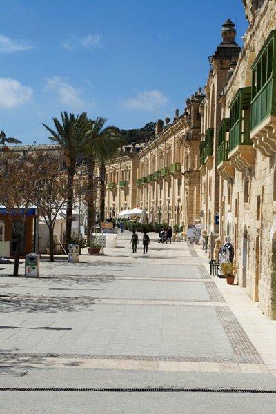 valletta bezienswaardigheden valletta waterfront in hoofdstad malta