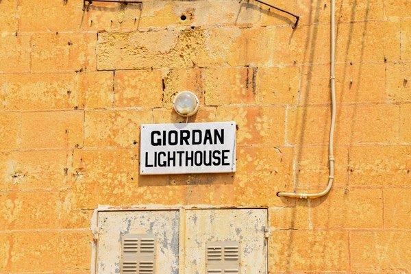voordeur giordan vuurtoren ghasri gozo eiland