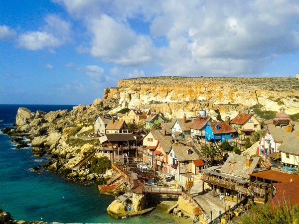 weer malta maart 2016 winter 2015 2016 middagzon popeye village anchor bay mellieha januari 2016