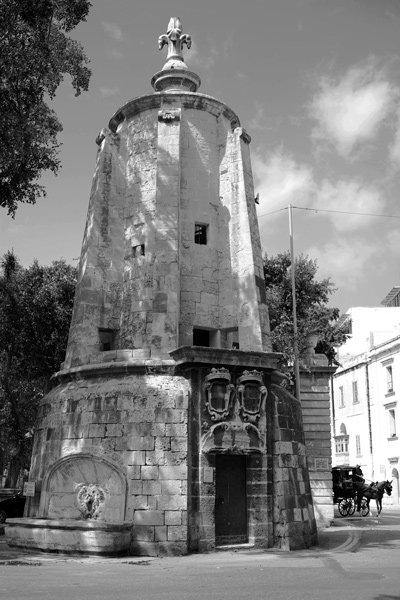 wignacourt watertoren floriana dichtbij valletta malta
