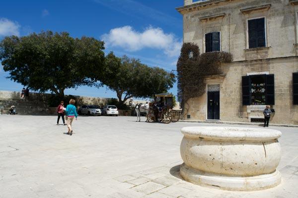 bastion square mdina centraal malta