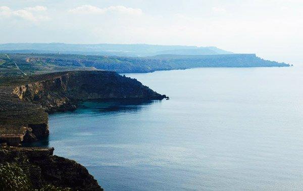 beautiful views from radisson blu golden sands malta
