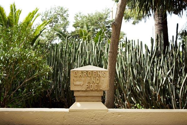 gardens and pool sign phoenicia hotel malta