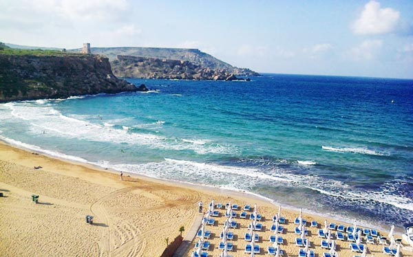 golden bay views radisson blu malta golden sands
