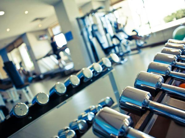 gymnasium gym radisson blu malta golden sands