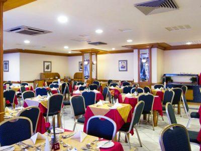 interior main restaurant canifor hotel malta