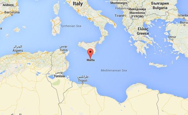 ligging maltese eilanden waar ligt malta