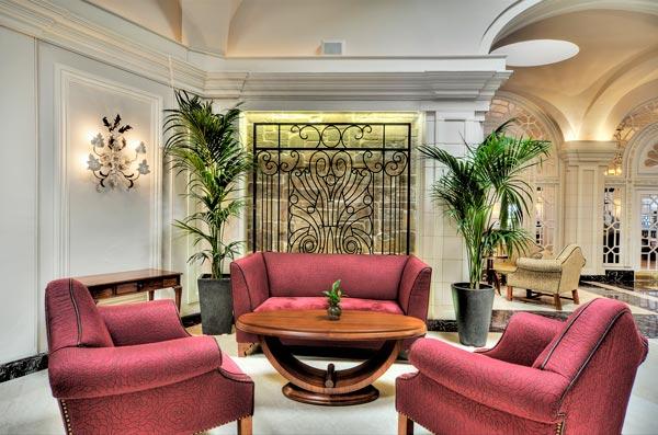 palm court lounge sofas hotel phoenicia malta