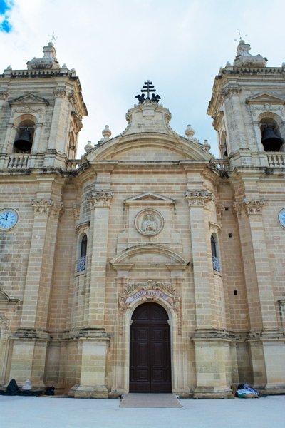 heilige maagd maria kerk xaghra gozo eiland malta