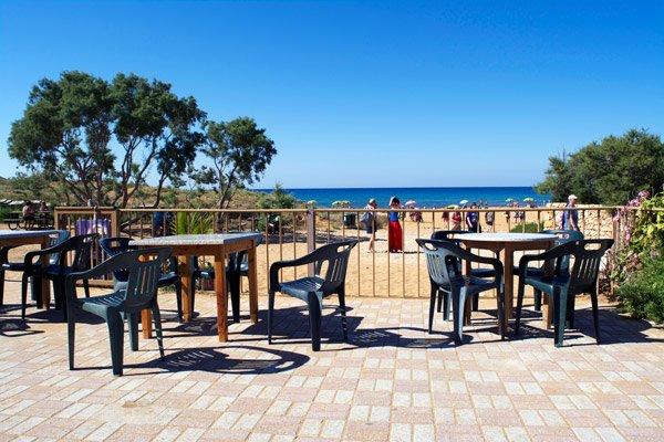 terras baai van ramla noorden van gozo eiland malta