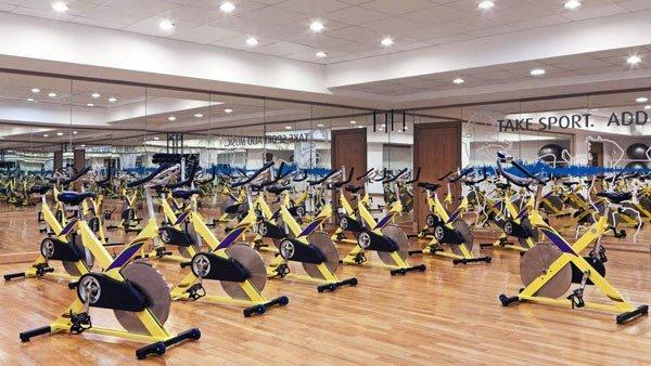 aerobics studio westin dragonara resort malta
