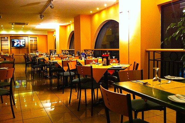basilico restaurant interior the waterfront hotel malta sliema