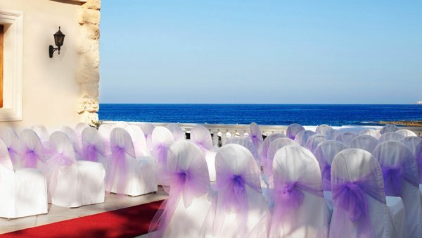 beautiful wedding ceremony location quadro restaurant westin dragonara malta