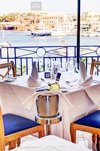 view regatta restaurant the waterfront hotel malta