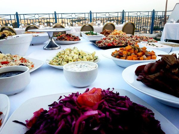 event buffet rooftop terrace waterfront hotel malta