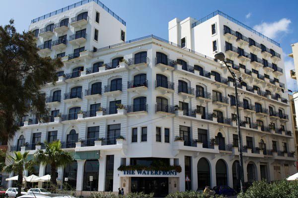 exterior the waterfront hotel sliema malta