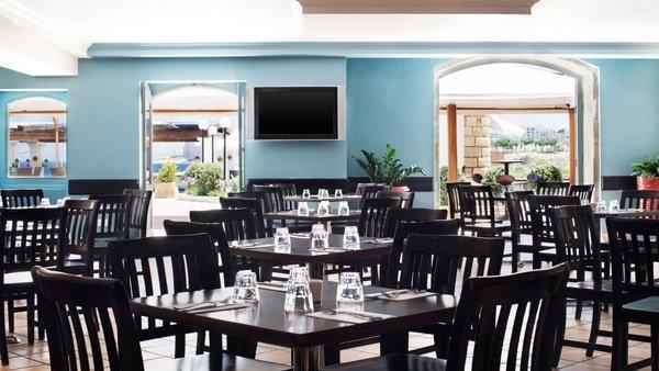 interior palio's restaurant westin dragonara malta