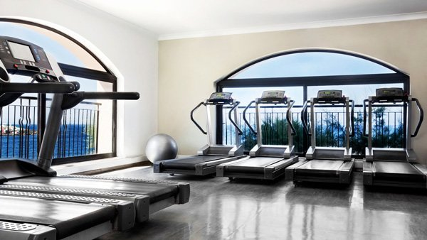 interior westin workout fitness studio westin dragonara malta