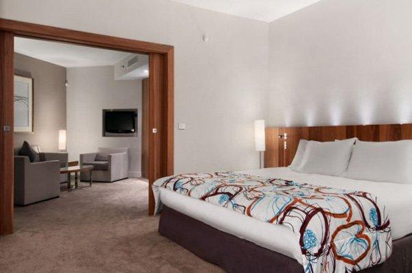 lovely modern suite hilton malta hotel