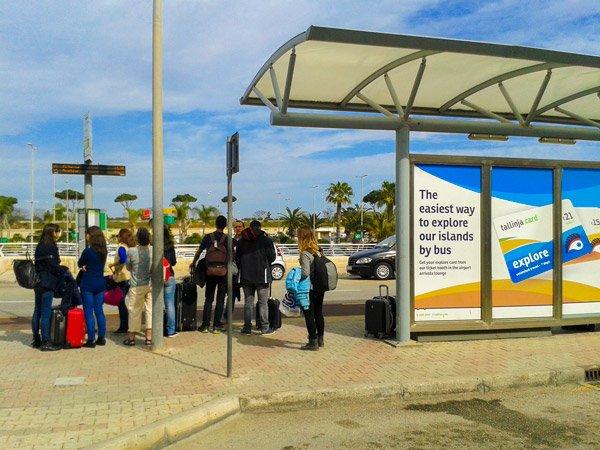 malta vakantie tips openbaar vervoer bus luchthaven malta public transport tallinja card