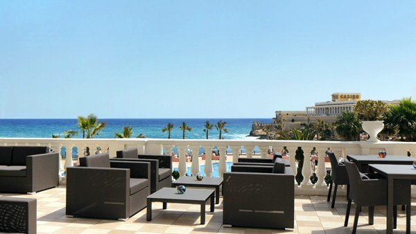 orvm lounge terrace the westin dragonara malta