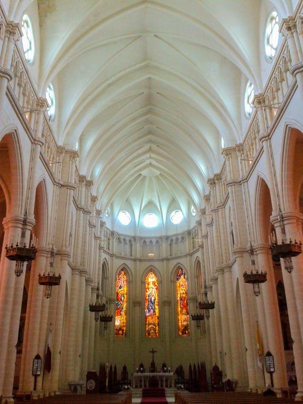 inside church of our lady of mount carmel balluta bay malta st julians
