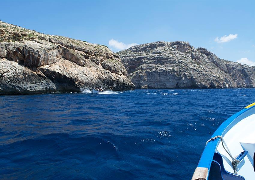 romantisch boottochtje blue grotto zuiden malta